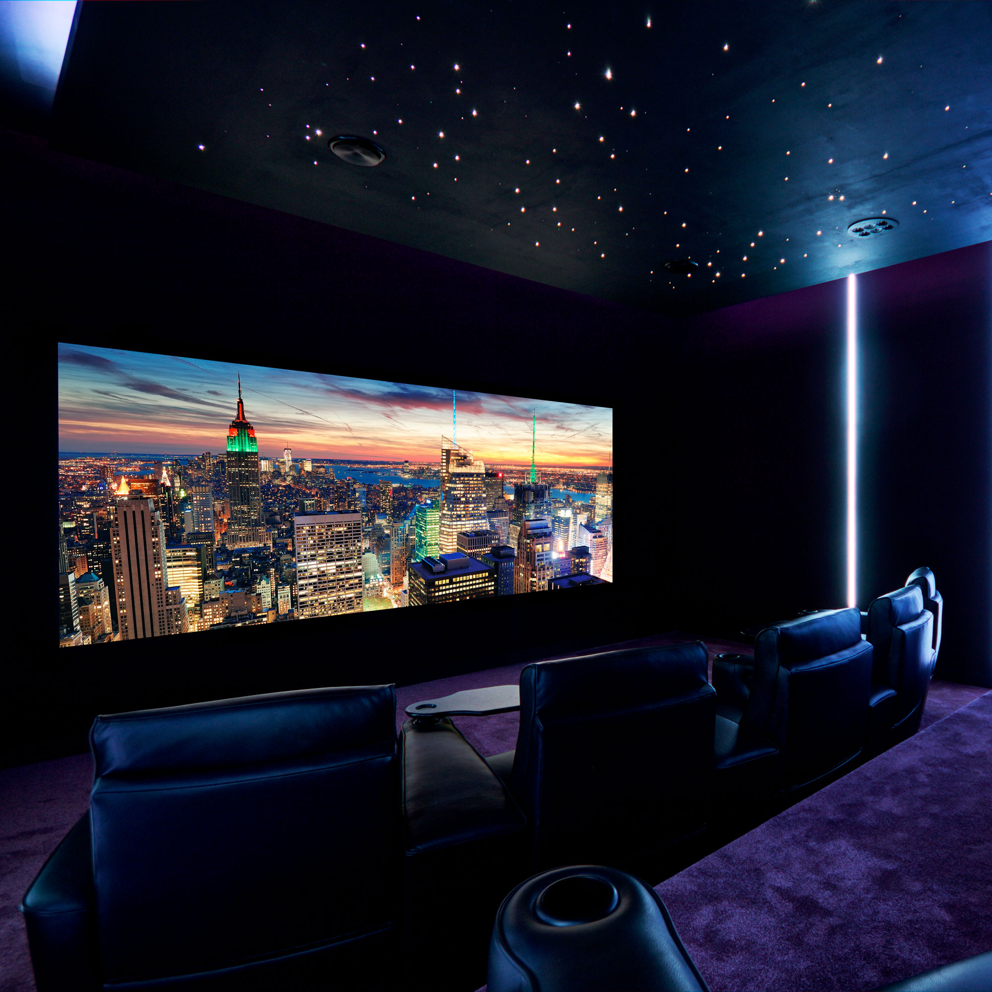 Bespoke Home Cinema Features