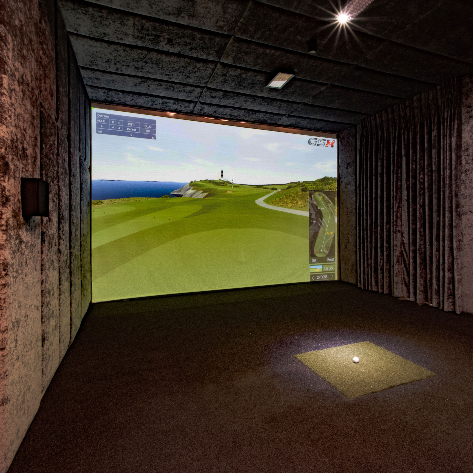Sports Coach GSX Golf Simulator