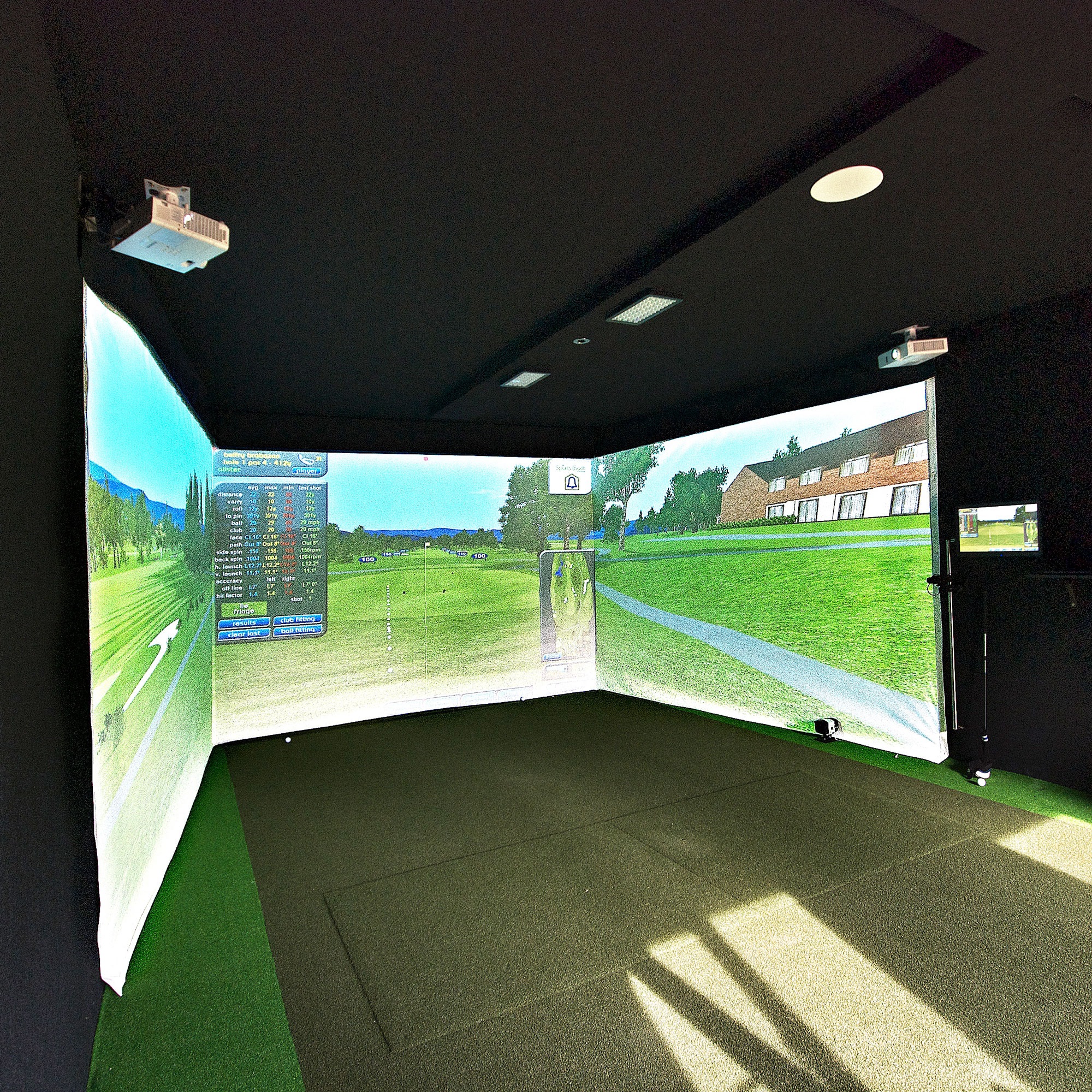 Golf Simulator Cabin