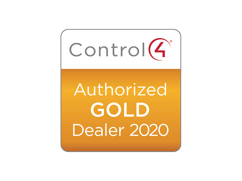 Control4 Authorised Gold Dealer