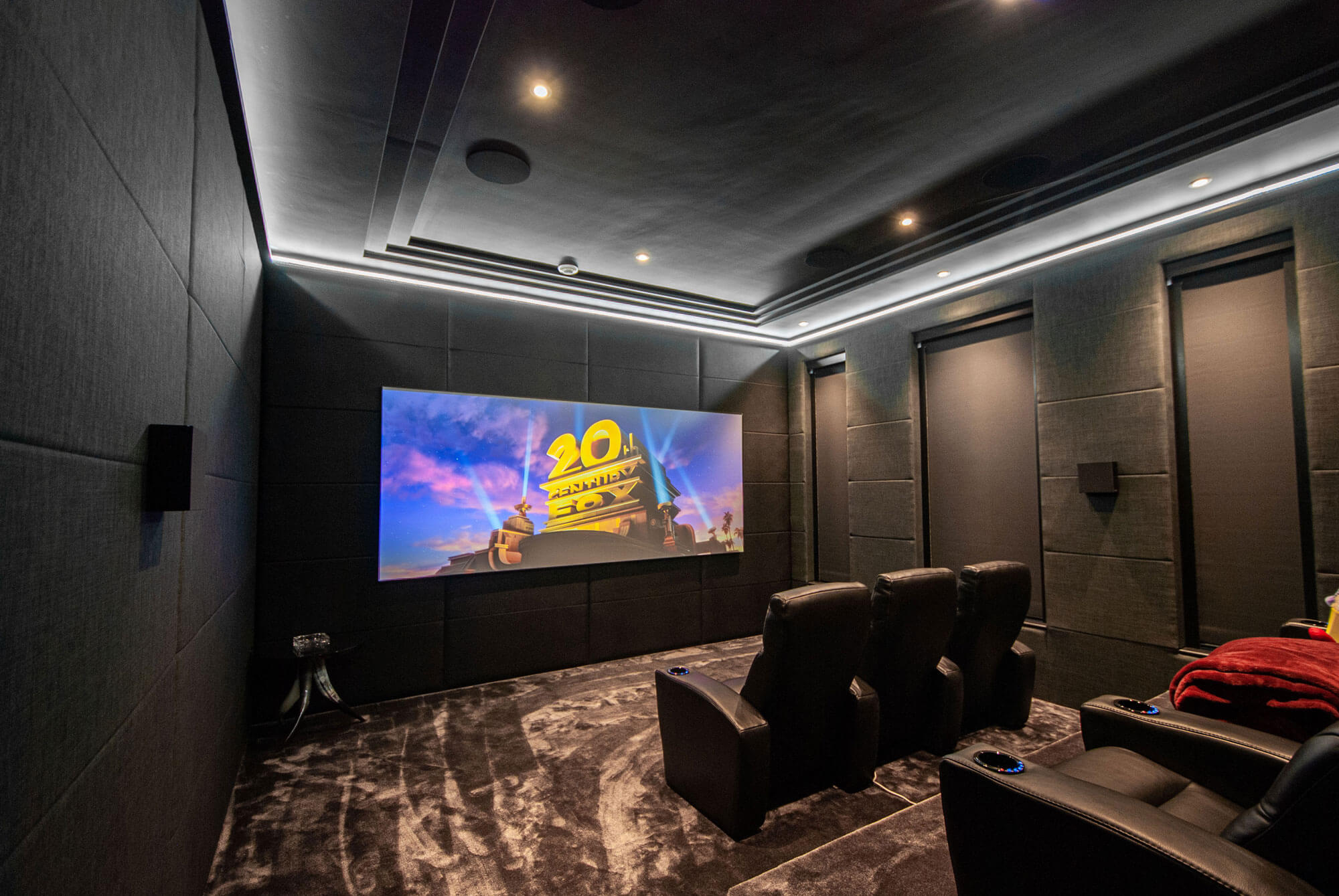 Basement Home Cinema Installation in St Georges Hill, Weybridge